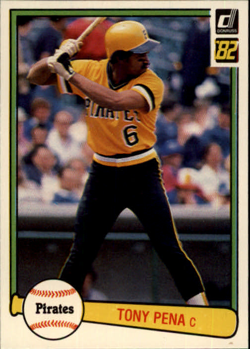 1982 Donruss #124 Tony Pena