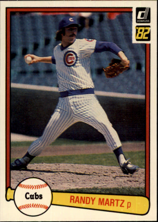 1982 Donruss #126 Randy Martz