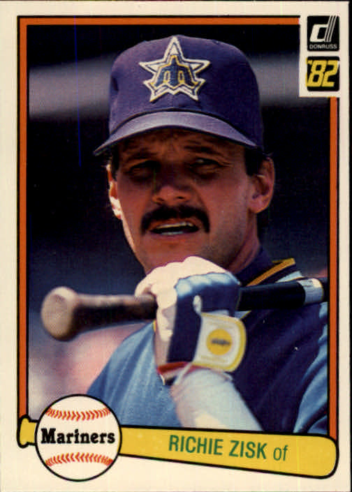 1982 Donruss #127 Richie Zisk