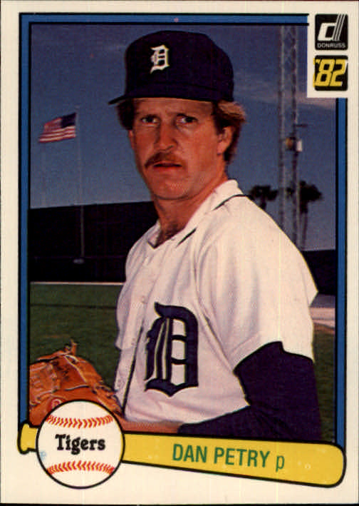 1982 Donruss #133 Dan Petry