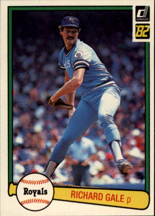 1982 Donruss #138 Rich Gale