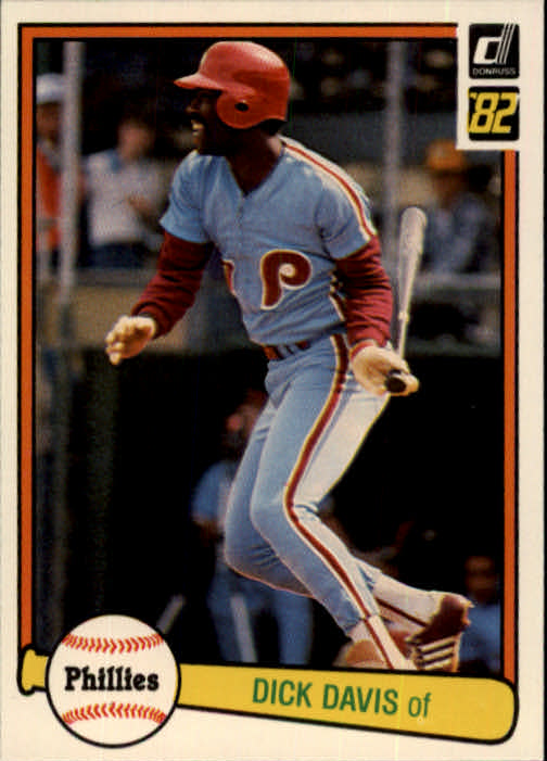1982 Donruss #147 Dick Davis