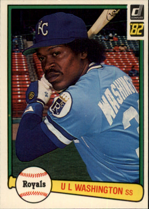 1982 Donruss #160 U.L. Washington