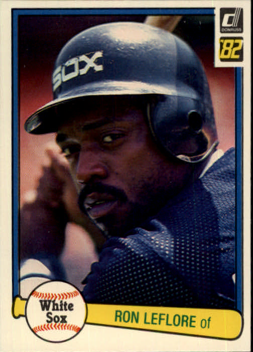 1982 Donruss #165 Ron LeFlore