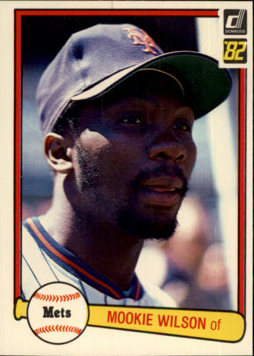 1982 Donruss #175 Mookie Wilson
