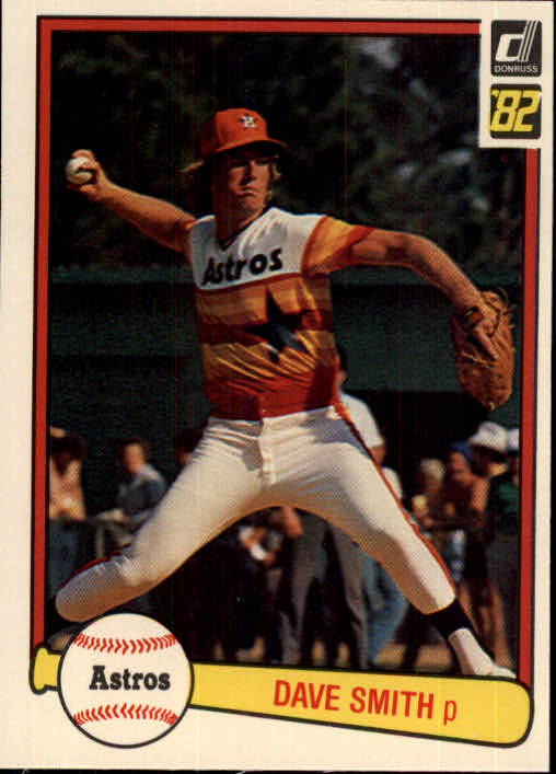 1982 Donruss #191 Dave Smith