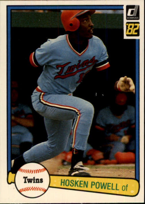 1982 Donruss #228 Hosken Powell