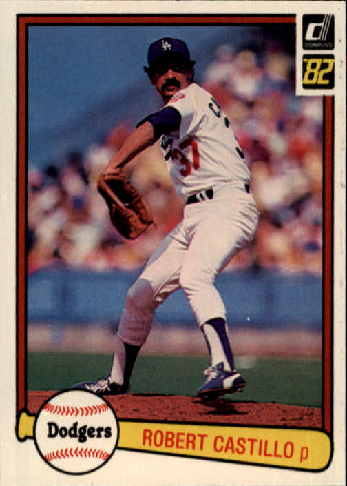 1982 Donruss #236 Robert Castillo