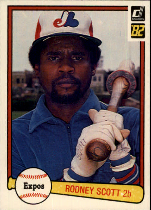 1982 Donruss #240 Rodney Scott