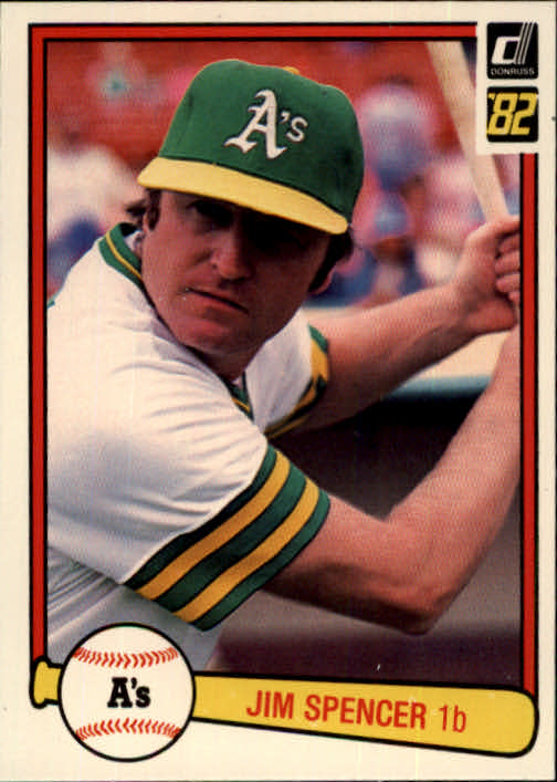 1982 Donruss #265 Jim Spencer