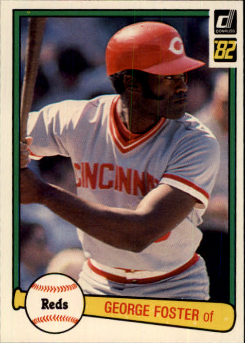 1982 Donruss #274 George Foster