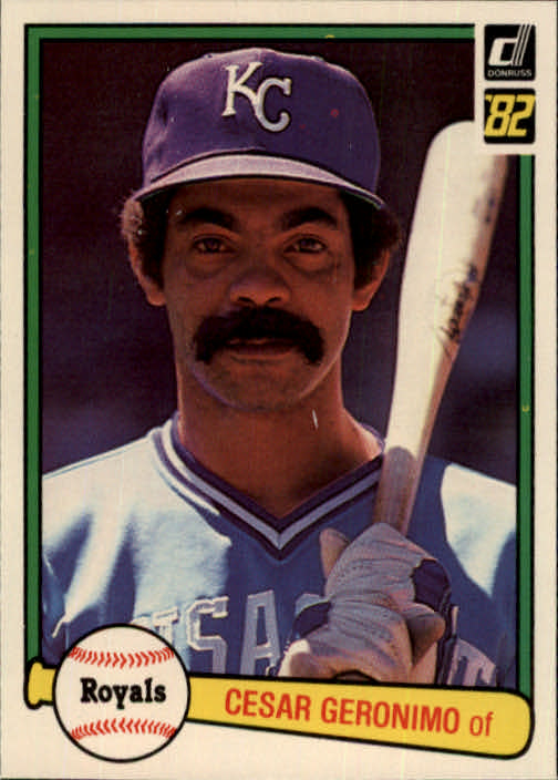 1982 Donruss #322 Cesar Geronimo