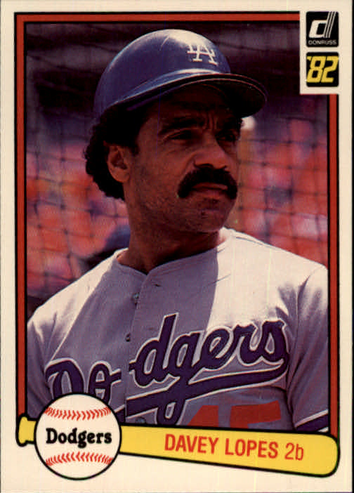 1982 Donruss #327 Dave Lopes