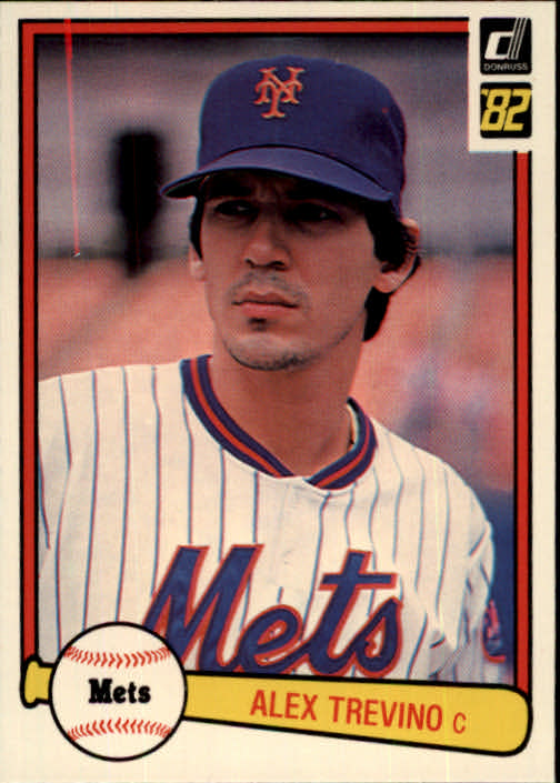 1982 Donruss #350 Alex Trevino