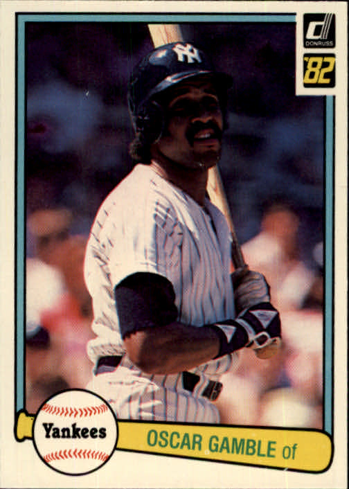 1982 Donruss #360 Oscar Gamble