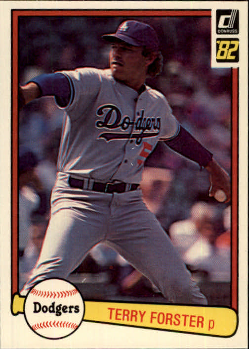 1982 Donruss #362 Terry Forster