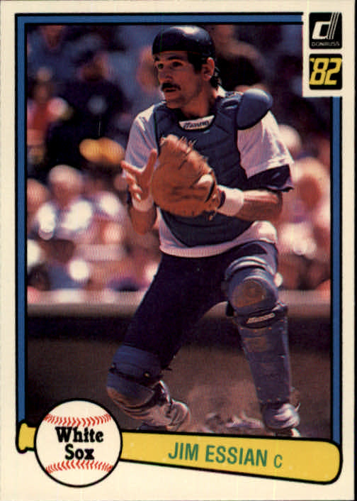 1982 Donruss #369 Jim Essian