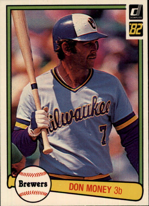 1982 Donruss #384 Don Money