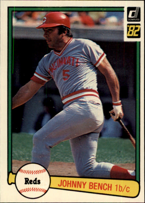 1982 Donruss #400 Johnny Bench