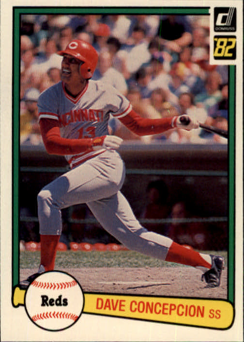 1982 Donruss #421 Dave Concepcion