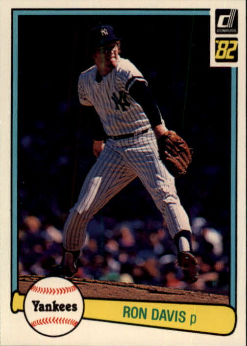 1982 Donruss #451 Ron Davis