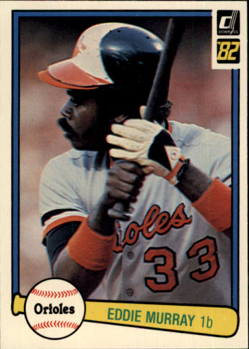 1982 Donruss #483 Eddie Murray
