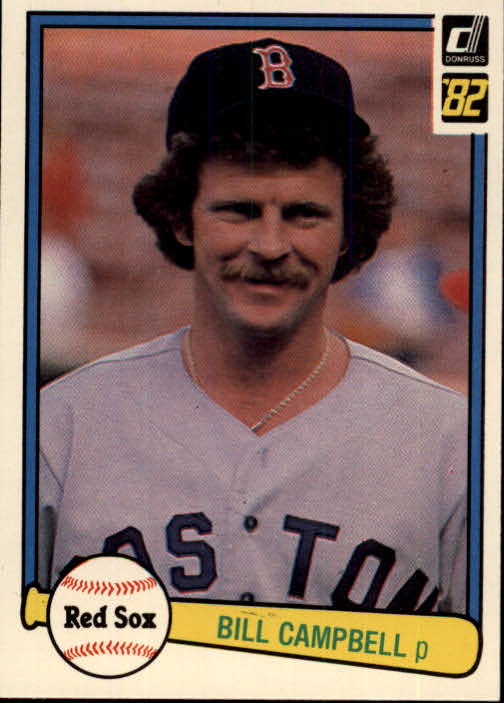 1982 Donruss #487 Bill Campbell