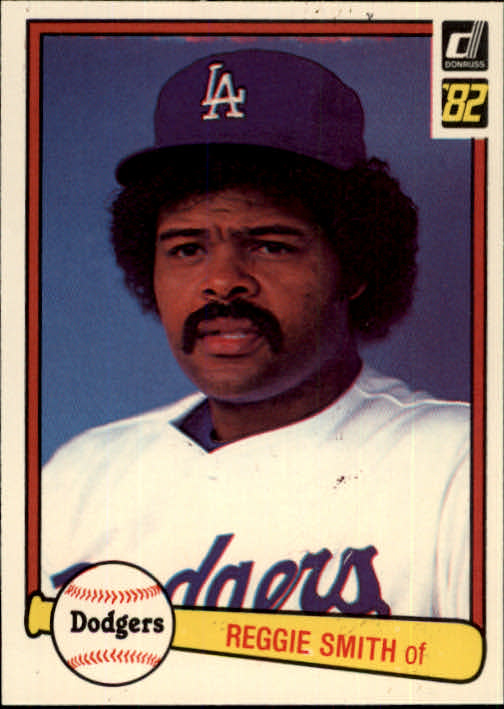 1982 Donruss #488 Reggie Smith