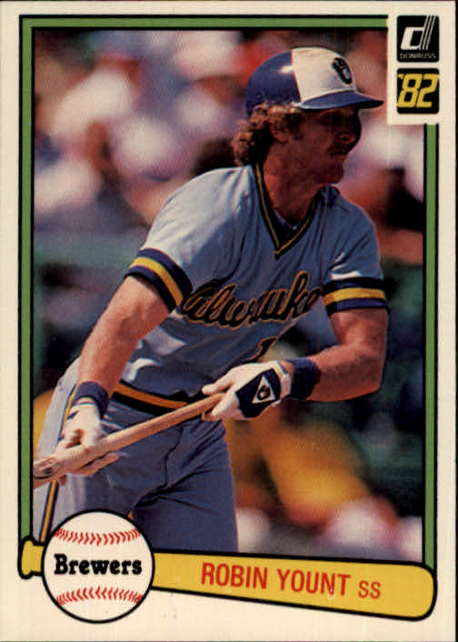 1982 Donruss #510 Robin Yount