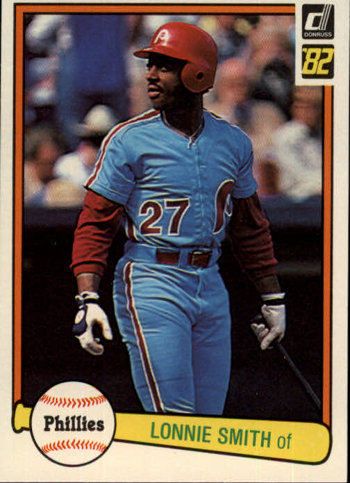 1982 Donruss #606 Lonnie Smith