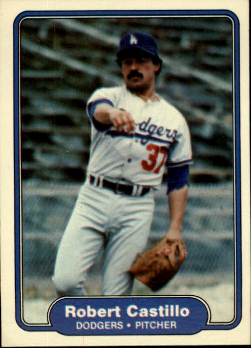 1982 Fleer #2 Robert Castillo