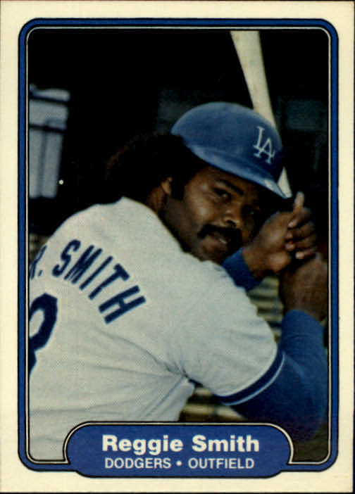 1982 Fleer #23 Reggie Smith