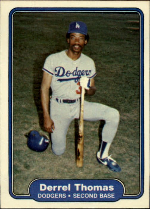1982 Fleer #26 Derrel Thomas