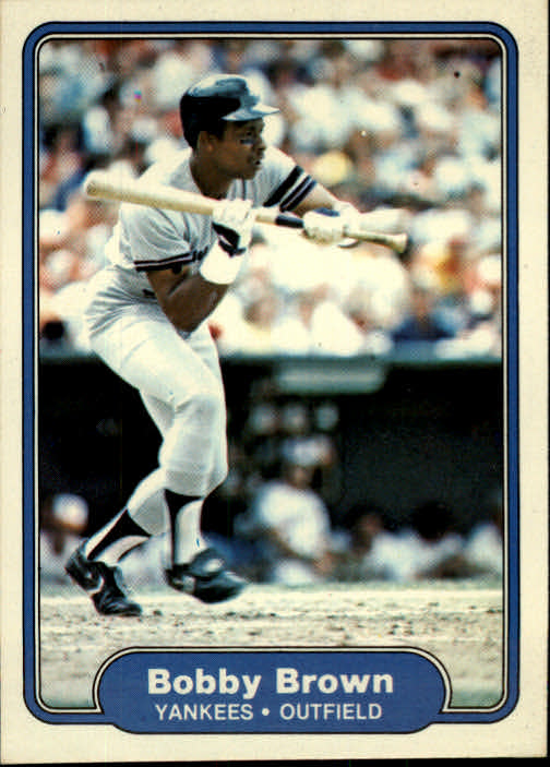 1982 Fleer #30 Bobby Brown