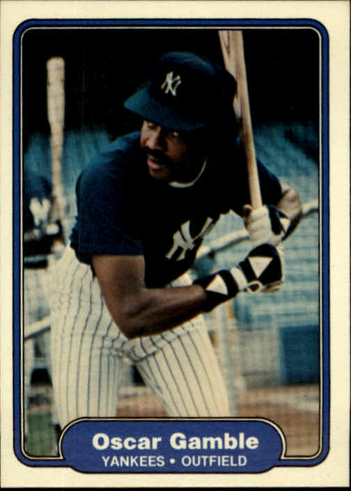 1982 Fleer #36 Oscar Gamble