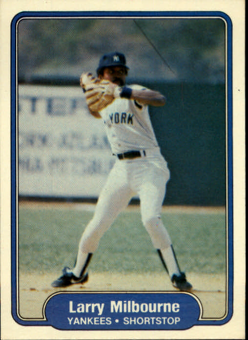 1982 Fleer #42 Larry Milbourne