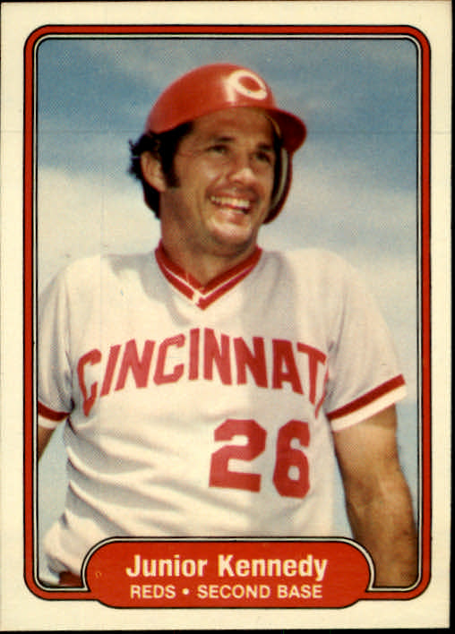 1982 Fleer #70 Junior Kennedy