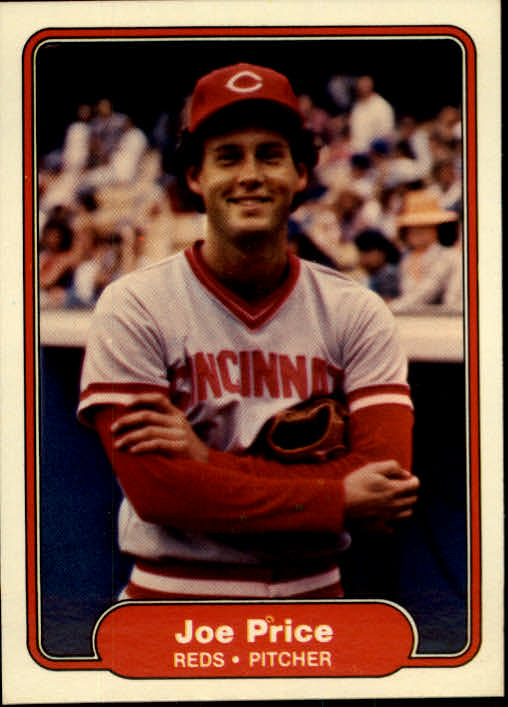 1982 Fleer #81 Joe Price
