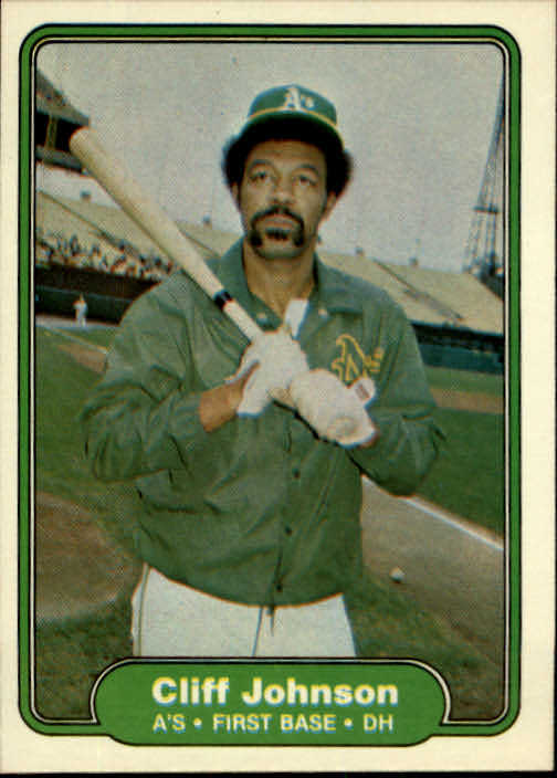 1982 Fleer #93 Cliff Johnson