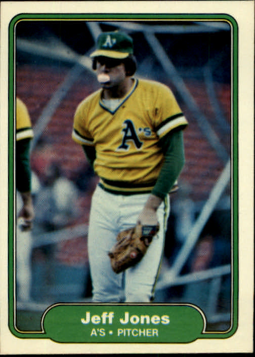 1982 Fleer #94 Jeff Jones