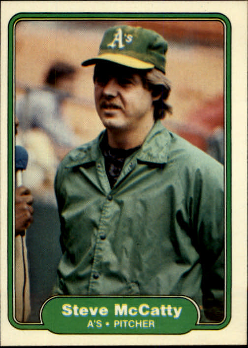 1982 Fleer #99 Steve McCatty