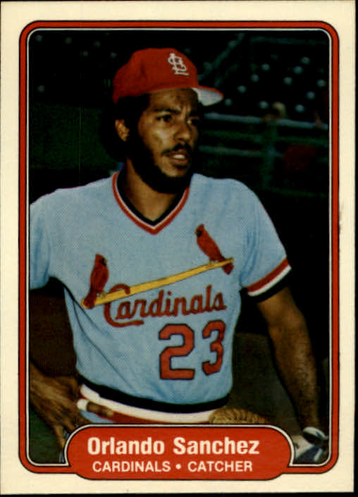 1982 Fleer #126 Orlando Sanchez