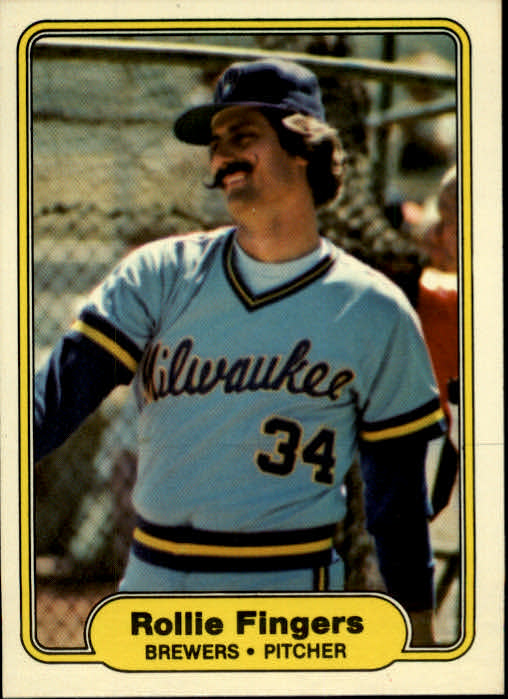 1982 Fleer #141 Rollie Fingers