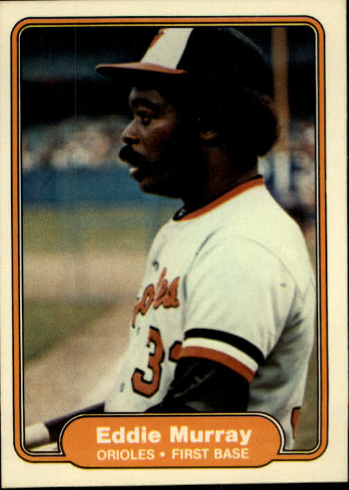 1982 Fleer #174 Eddie Murray