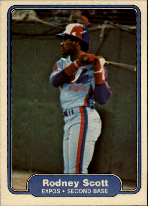 1982 Fleer #207 Rodney Scott UER Raines