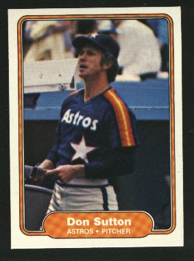 1982 Fleer #234 Don Sutton