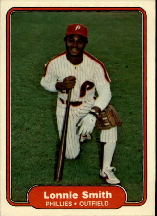 1982 Fleer #259 Lonnie Smith