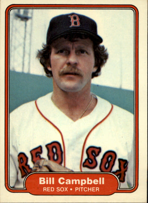 1982 Fleer #289 Bill Campbell