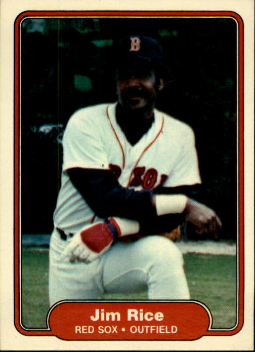 1982 Fleer #305 Jim Rice