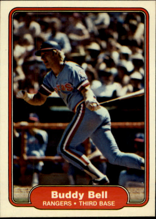 1982 Fleer #313 Buddy Bell